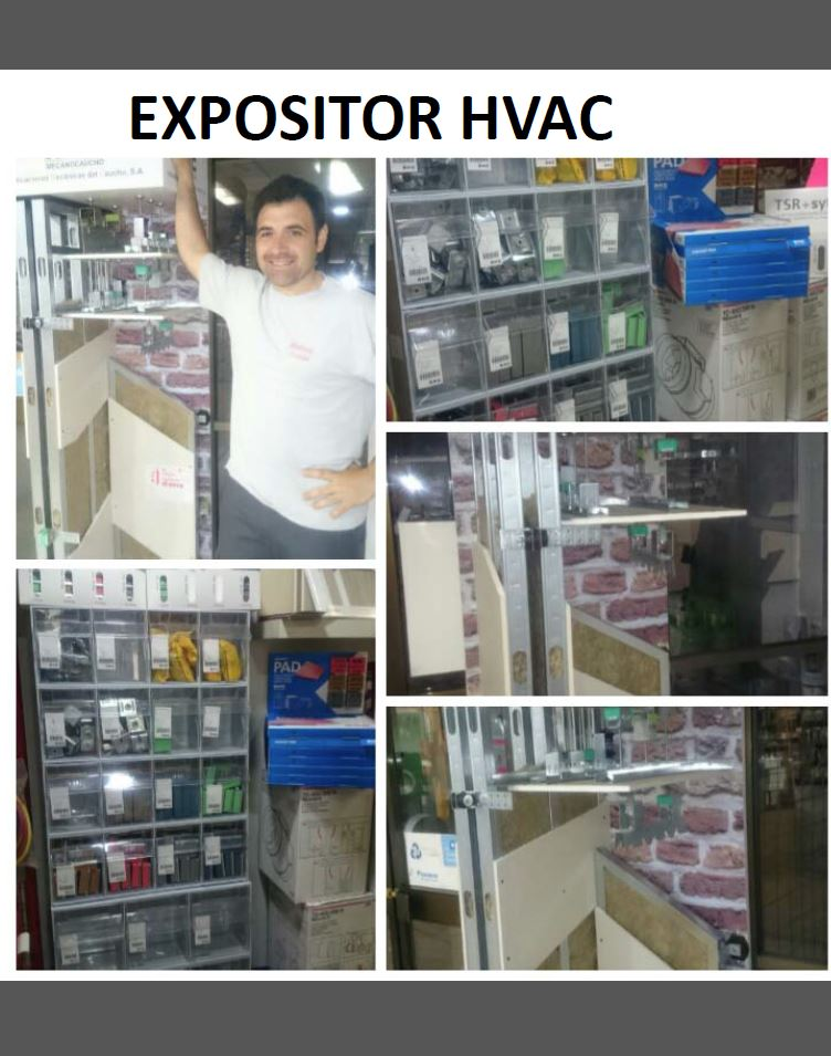 HVAC display
